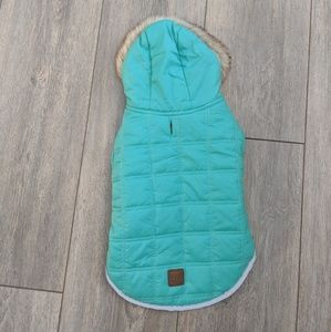 friends forever Other - Friends forever teal puffer doggie coat